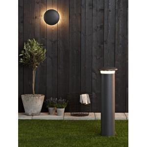 Уличный настенный светодиодный светильник Markslojd Discus 105831