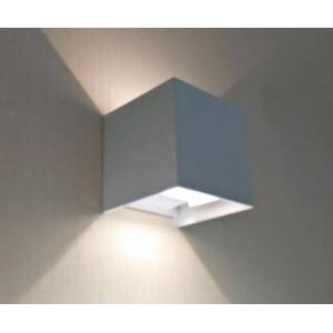 Уличный настенный светодиодный светильник Kink Light Куб 08585,01(3000K)