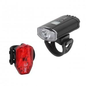 Велосипедный светодиодный фонарь ЭРА аккумуляторный 183х143х57 130лм VA-801 Б0039624
