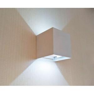 Уличный настенный светодиодный светильник Kink Light Куб 08585,01(4000K)