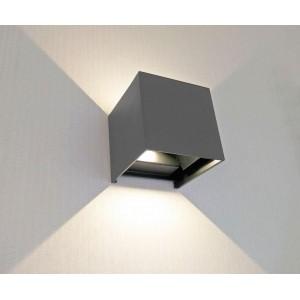 Уличный настенный светодиодный светильник Kink Light Куб 08585,16(3000K)