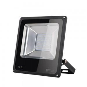 Прожектор светодиодный Gauss 70W 613100370