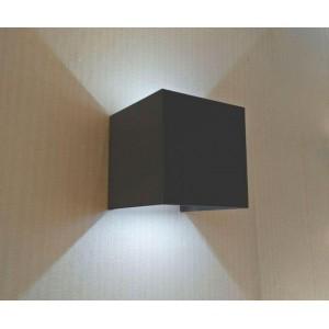 Уличный настенный светодиодный светильник Kink Light Куб 08585,16(4000K)