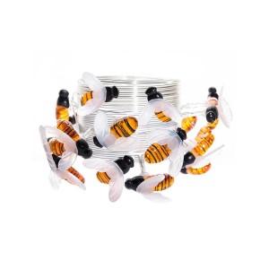 Гирлянда на солнечных батареях 380см разноцветная Uniel Пчелки USL-S-127/PT4000 Bees UL-00004280