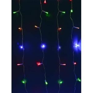 Гирлянда на солнечных батареях Uniel Занавес USL-S-132/PT1515 Multicolor Curtain UL-00006539