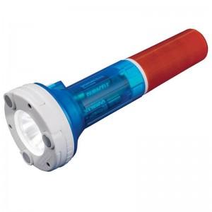 Автомобильный светодиодный фонарь Uniel от батареек 220х81,5 80 лм P-AT031-BB Amber-Blue 05143