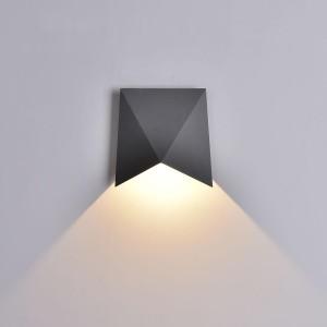 Уличный настенный светодиодный светильник Mantra Triax 6525