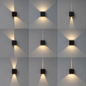 Уличный настенный светодиодный светильник Mantra Davos 7437