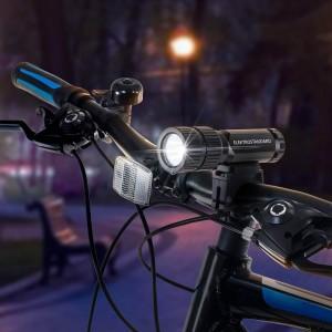 Велосипедный светодиодный фонарь Elektrostandard Vector от батареек 120х36 60 лм 4690389128967