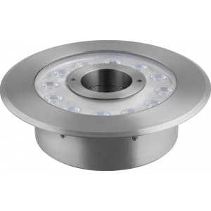 Светодиодный светильник подводный Feron LL-876 Lux 12W RGB 24V IP68