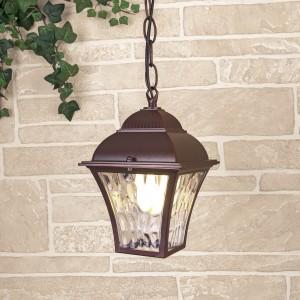 Apus H шоколад уличный подвесной светильник GL 1009H