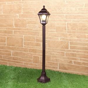 Apus F шоколад уличный светильник на столбе GL 1009F