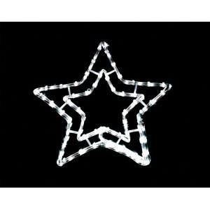 Световая фигура 230V 3м LED белый, 24 LED/1м, 3.6W, 20mA,  IP 44, шнур 1.5м 0.75мм, LT006