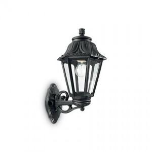 Настенный уличный светильник ANNA AP1 BIG NERO