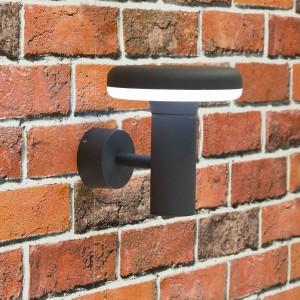 Уличный настенный светильник Citilux CLU01W Черный