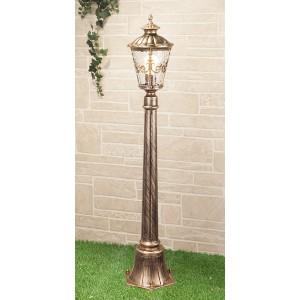 Diadema F черное золото уличный светильник на столбе GLYF-8046F