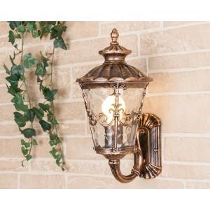 Diadema U черное золото уличный настенный светильник GLYF-8046U