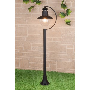 Talli F черный уличный светильник на столбе GL 3002F